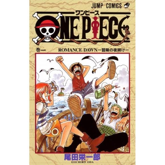 ONE PIECE vol. 1 - Edição Japonesa