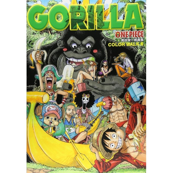 ONE PIECE Color Walk vol. 6 GORILLA