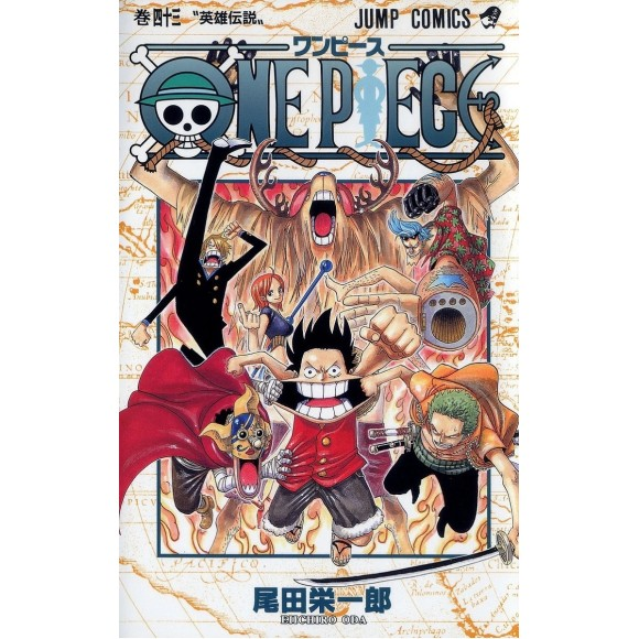 ONE PIECE vol. 43 - Edição Japonesa