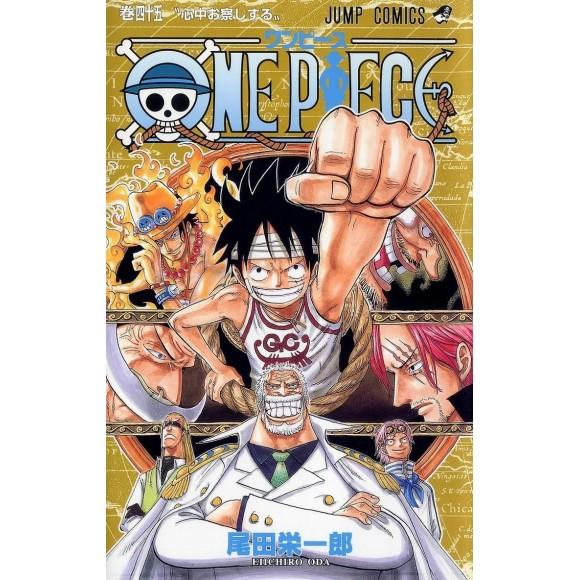 ONE PIECE vol. 45 - Edição Japonesa