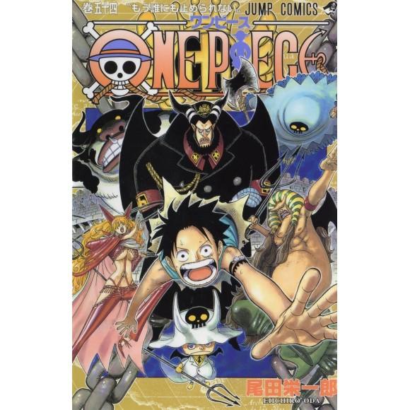 ONE PIECE vol. 54 - Edição Japonesa