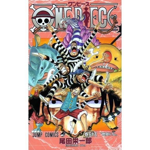 ONE PIECE vol. 55 - Edição Japonesa