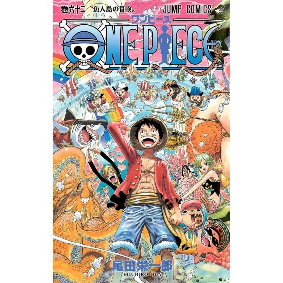 ONE PIECE vol. 62 - Edição Japonesa
