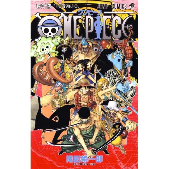 ONE PIECE vol. 64 - Edição Japonesa