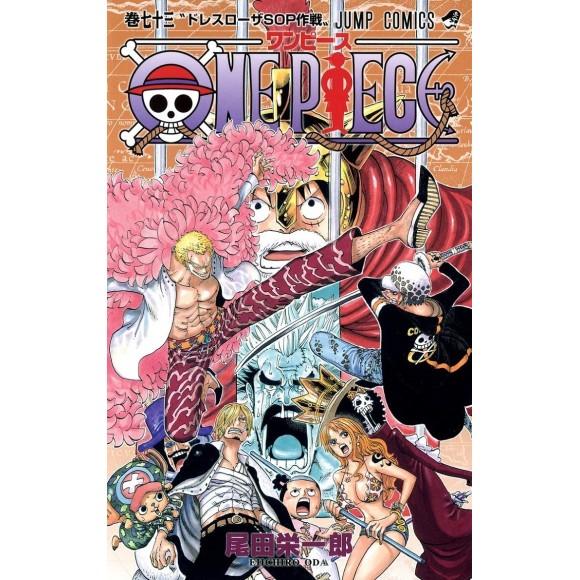 ONE PIECE vol. 73 - Edição Japonesa