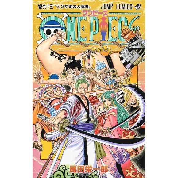 ONE PIECE vol. 93 - Edição Japonesa