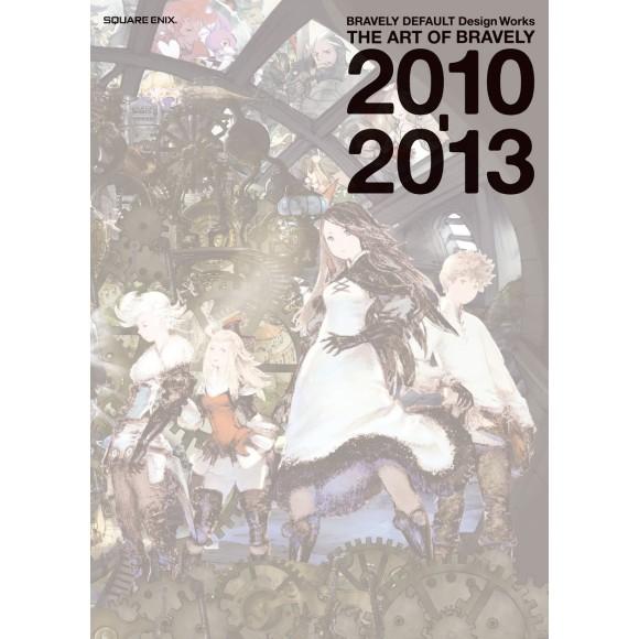 BRAVELY DEFAULT Design Works - The Art of Bravely 2010-2013 - Em Japonês