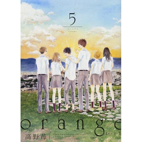 Orange vol. 5 - Edição Japonesa