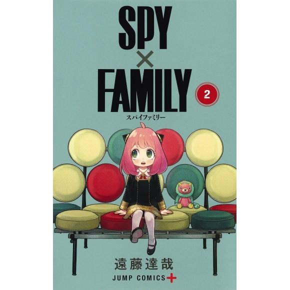 SPY X FAMILY vol. 2 - Edição Japonesa