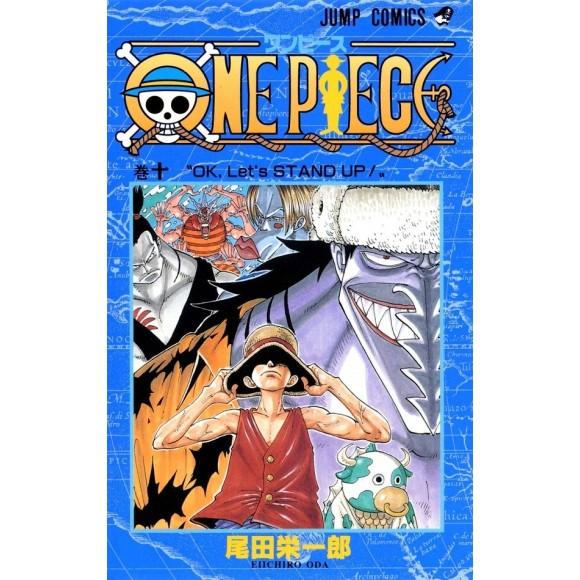 ONE PIECE vol. 10 - Edição Japonesa