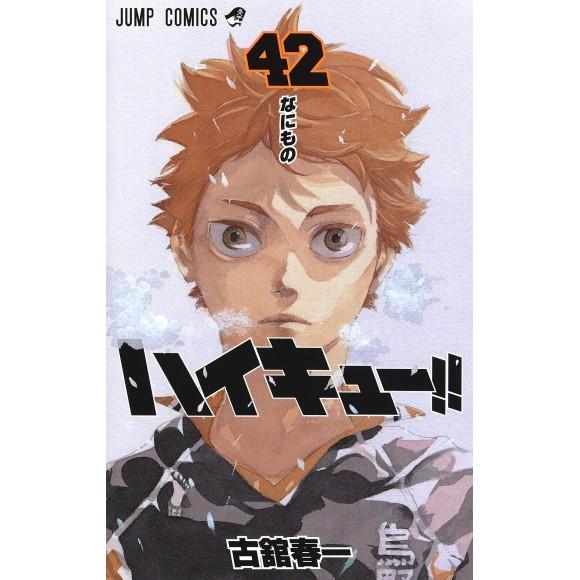 HAIKYUU!! vol. 42 - Edição Japonesa