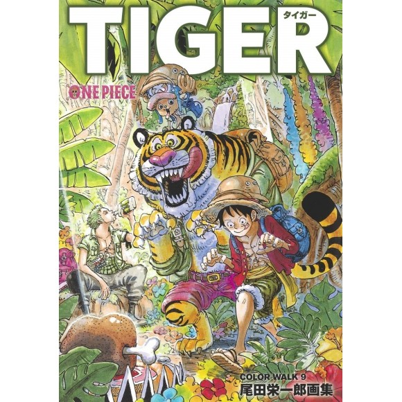 ONE PIECE Color Walk vol. 9 TIGER