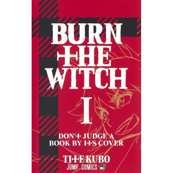 BURN THE WITCH vol. 1 - Edição Japonesa