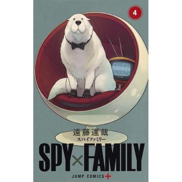 SPY X FAMILY vol. 4 - Edição Japonesa