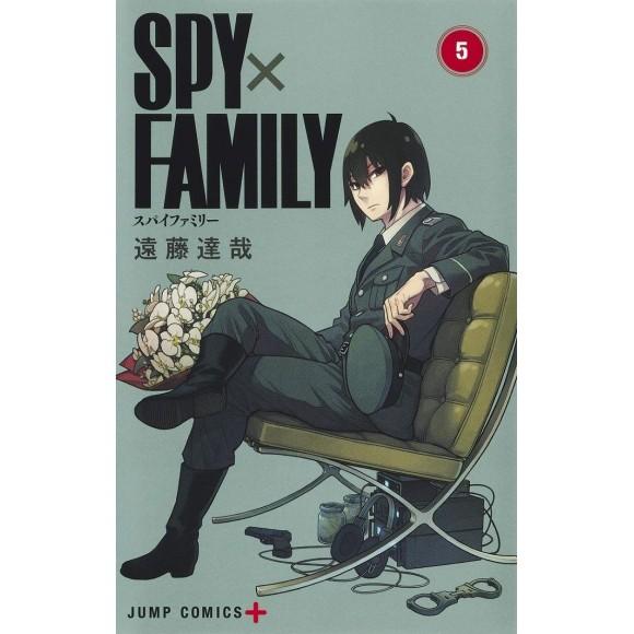 SPY X FAMILY vol. 5 - Edição Japonesa