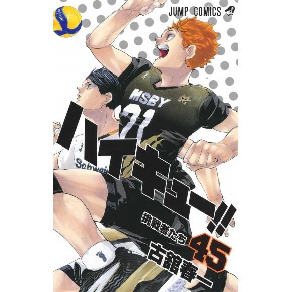 HAIKYUU!! vol. 45 - Edição Japonesa
