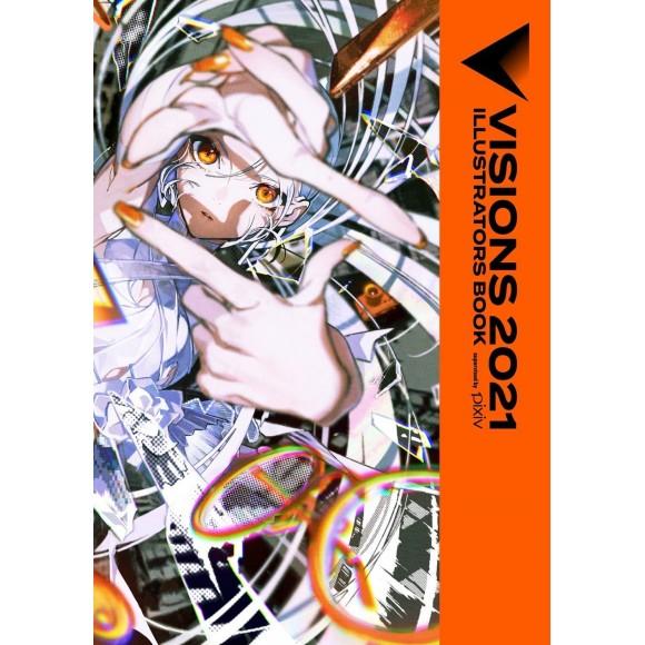 VISIONS 2021 ILLUSTRATORS BOOK - Edição Japonesa