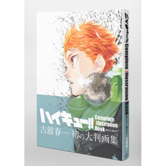 ハイキュー!! HAIKYUU!! Complete Illustration Book - Edição Japonesa