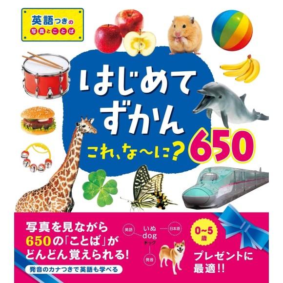 Hajimete Zukan - Kore, Nani? 650 はじめてずかん これ、な~に?650 - Em japonês