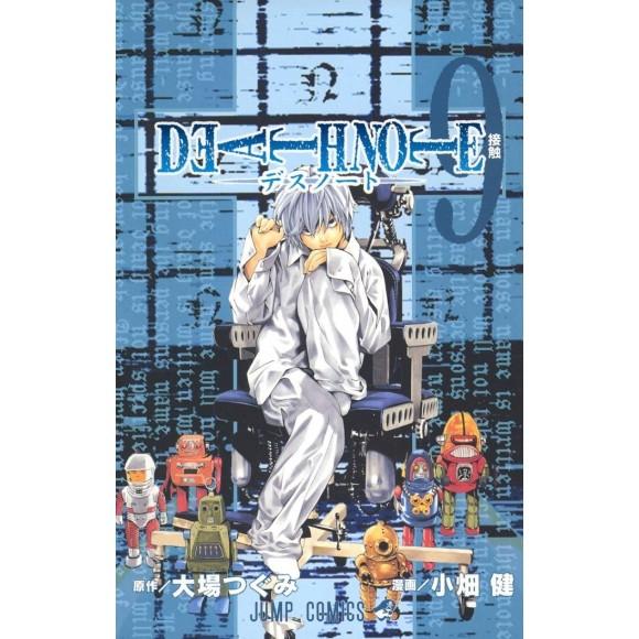DEATH NOTE vol. 9 - Edição Japonesa