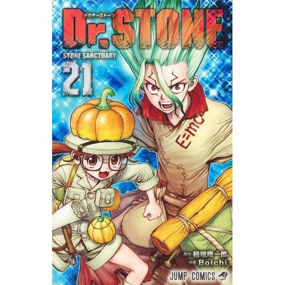 Dr. Stone vol. 21 - Edição Japonesa