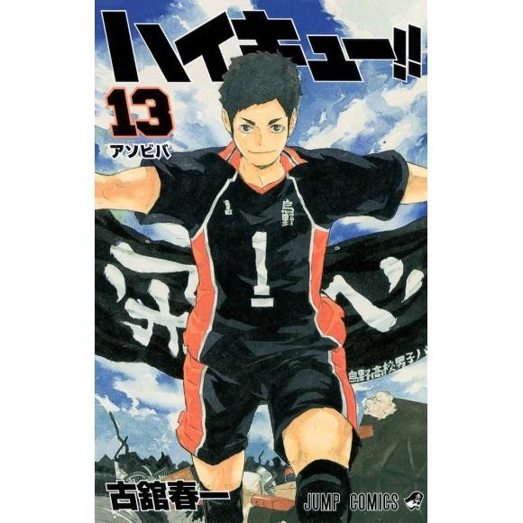 HAIKYUU!! vol. 13 - Edição Japonesa