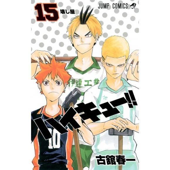 HAIKYUU!! vol. 15 - Edição Japonesa