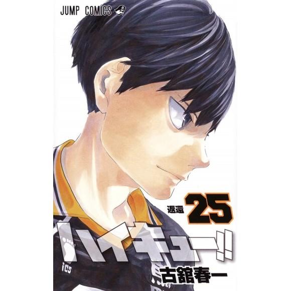 HAIKYUU!! vol. 25 - Edição Japonesa