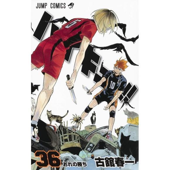 HAIKYUU!! vol. 36 - Edição Japonesa
