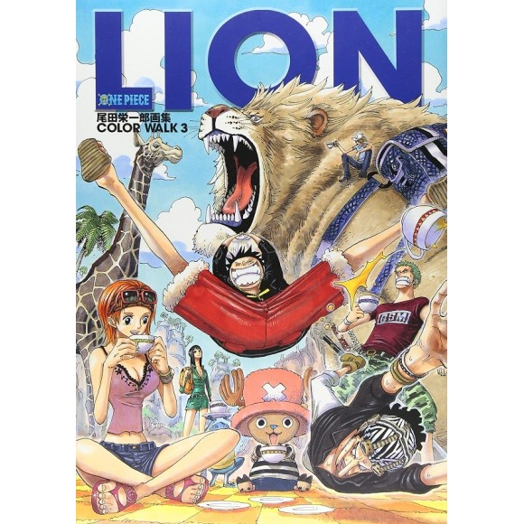ONE PIECE Color Walk vol. 3 LION