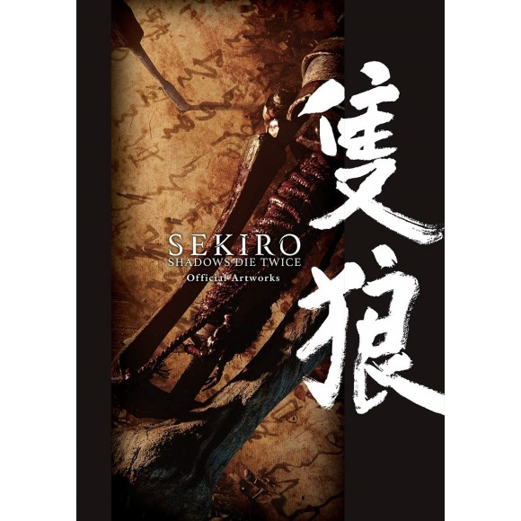 SEKIRO SHADOWS DIE TWICE Official Artworks - Edição Japonesa