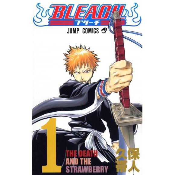 BLEACH vol. 1 - Edição Japonesa